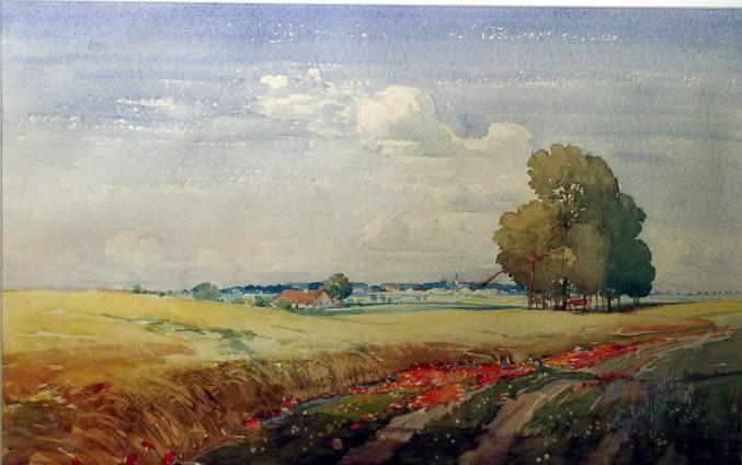 Banat Getreide - Franz Ferch