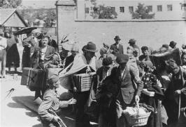 Deportation der Juden aus Großbetschkerek - August 1941