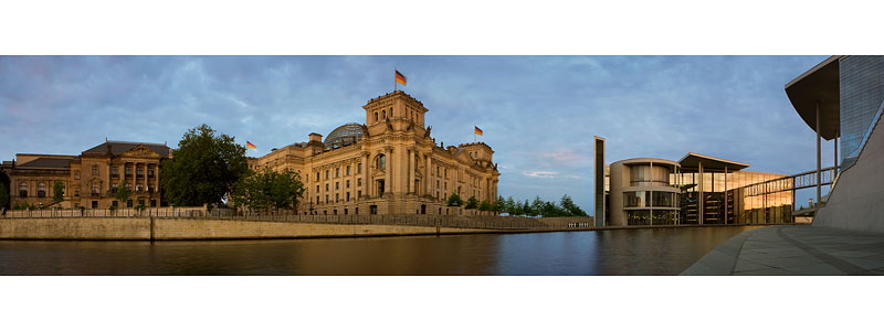 Berlin bundestag panorama