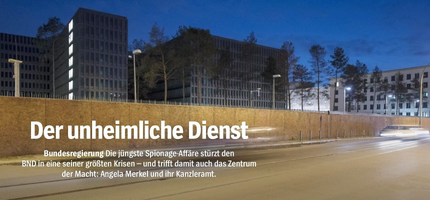 Spiegel BND Merkel Kanzleramt