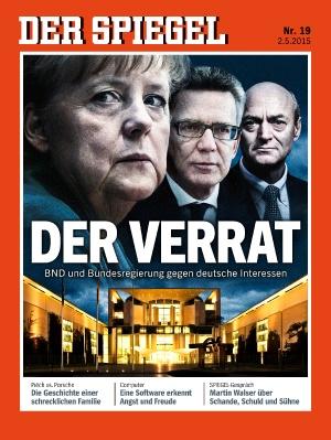Spiegel - Merkel BND Affäre Verrat